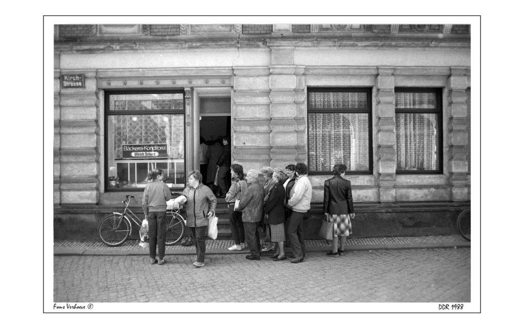 Die Reise in die DDR 1988.